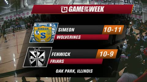 Game of the Week: MLK Tournament - Simeon vs Fenwick