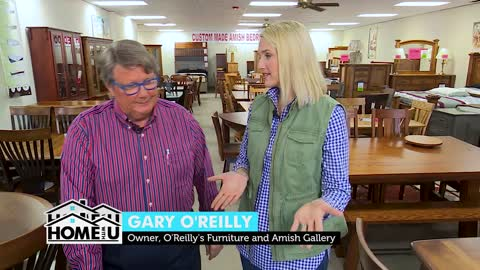 Be Your Own Designer at O'Reilly's Furniture