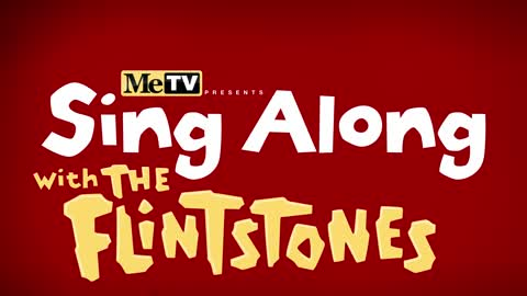 Sing-Along with The Flintstones!