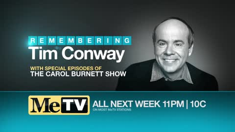 MeTV pays tribute to Tim Conway on May 20-24