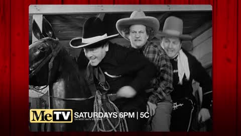 Cowboys meet Stooges every Saturday on MeTV