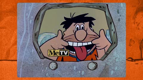 Fred Flintstone is on TV — MeTV!