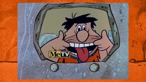 Fred Flintstone is on TV —MeTV!
