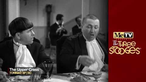 MeTV presents The Three Stooges ''The Upper Crass'' on...