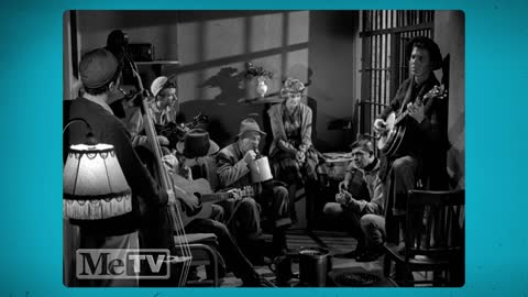 The first time Andy Griffith performs with the Darlings on The Andy Griffith Show