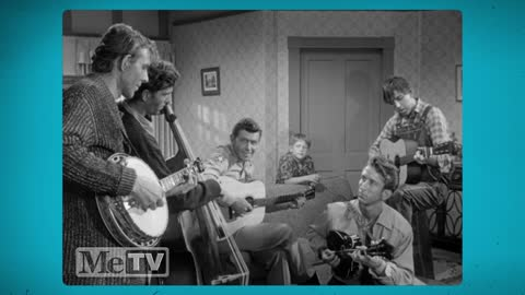 Andy Griffith performs ''Duelin' Banjos'' with the Darlings
