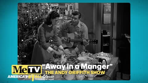Andy and Ellie sing ''Away in a Manger'' on The Andy...