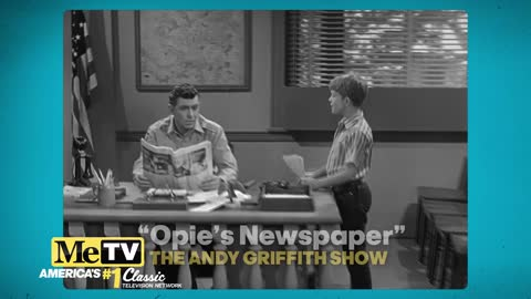 Opie Writes a Newspaper