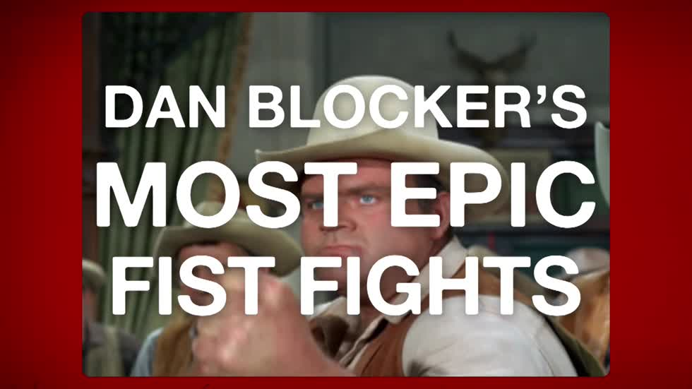 Dan Blocker's Most Epic Fist Fights