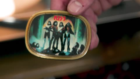 Collector's Call Web Extra: 1978 KISS Belt Buckle