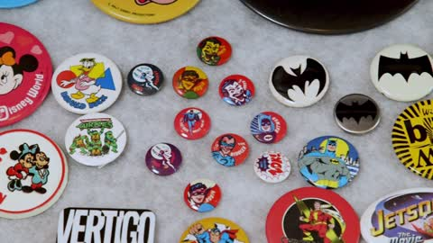 Collector's Call Web Extra: 1960s Batman Buttons