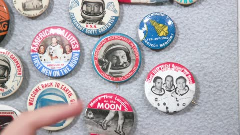 Collector's Call Web Extra: U.S. Space Program Buttons