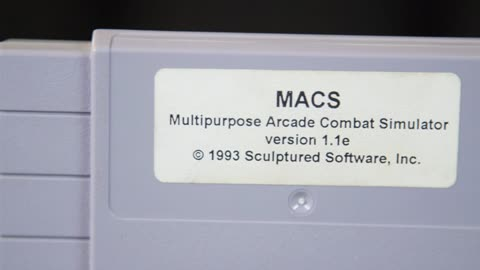 Collector's Call Web Extra: MACS Cartridge for Super Nintendo