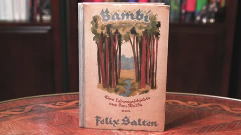 Collector's Call Web Extra: Original German Edition of Bambi
