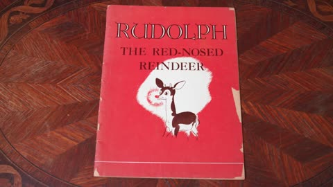 Collector's Call Web Extra: Rudolph the Red-Nosed Reindeer...