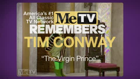 MeTV Remembers Tim Conway | The Virgin Prince