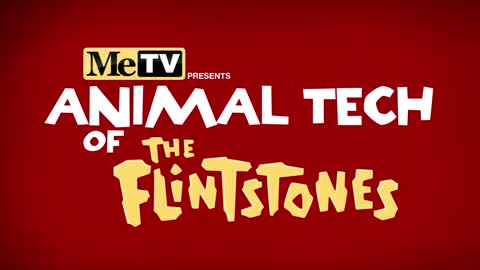 The Animal Tech of The Flintstones
