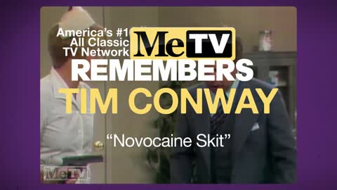 MeTV Remembers Tim Conway | Novocaine Skit