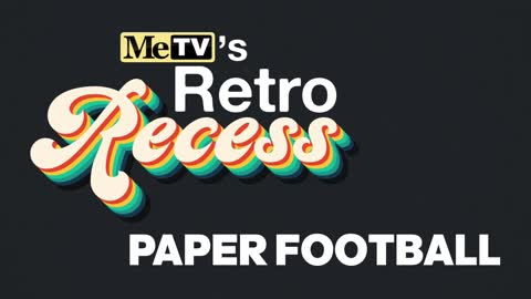 Playing Paper Football | Retro Recess