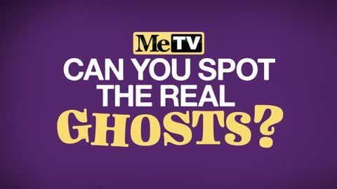 Can you spot the real ghosts?