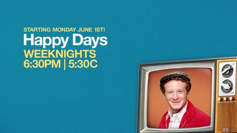 Happy Days is coming to MeTV on June 1