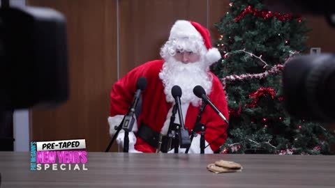 Santa Claus Post-Christmas Press Conference