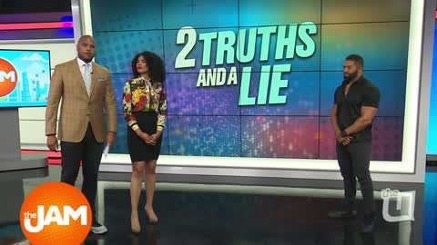 David Otunga Plays 2 Truths & a Lie