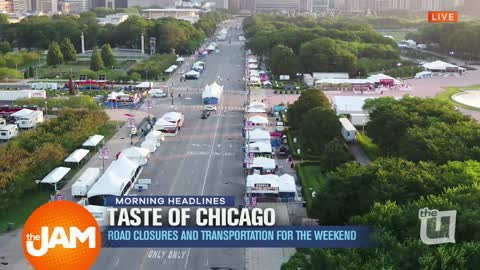 Taste of Chicago Road Closures and Transportation