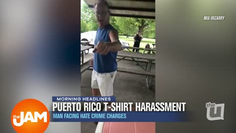 Puerto Rico T-Shirt Harrassment | Man Facing Hate Crime Charges