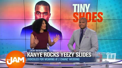 Kanye's Tiny Shoes, Public Urinals & Bragging on Social Media