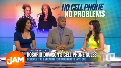Rosario Dawson's Cell Phone Rules & Kanye's Thoughts on Social Media