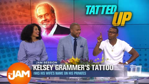 Kelsey Grammer's New Ink and How To Be Stress Free on Vacation