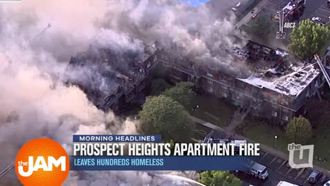Prospect Heights Apartment Fire