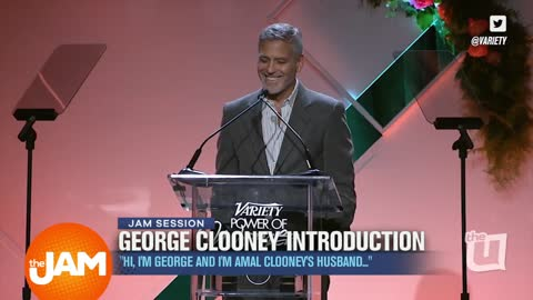 George Clooney's Introduction and Pedicures on an Airplane