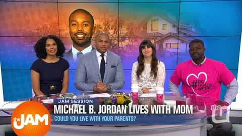 Michael B. Jordan Lives With Mom