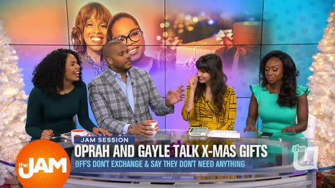 Oprah and Gayle Christmas Presents & Parents Picking Dates