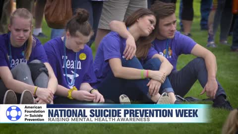Raising Awareness for National Suicide Prevention Week
