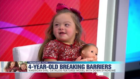 Ivy Kimble, 4-Year-Old 'American Girl' Model with Down Syndrome