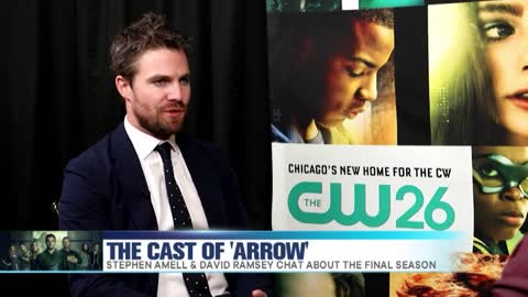 'Arrow' Cast Talks 8th & Final Season