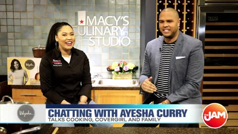 Chatting with Ayesha Curry