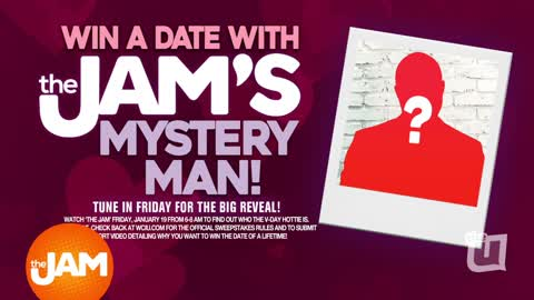 Win a Date With The Jam's Mystery Man: Clue 1