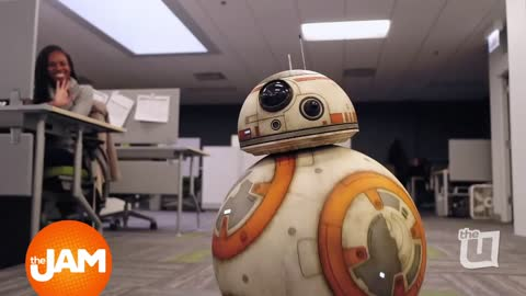 BB8 from Star Wars: The Last Jedi Stopped by the Office