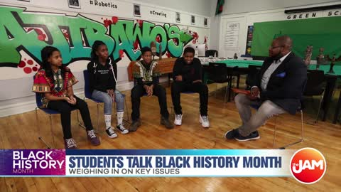 Students Talk Black History Month