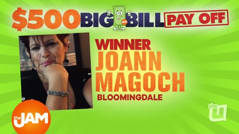 The Jam's $500 Big Bill Pay Off Winners Joann and Yolanda