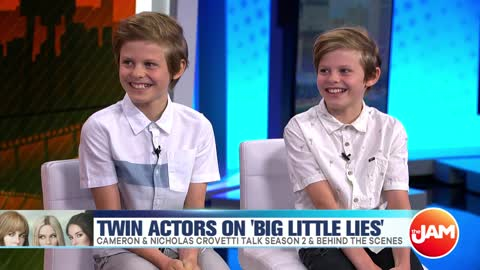 Cameron & Nicholas Crovetti Talk 'Big Little Lies' & Behind the Scenes with Nicole Kidman