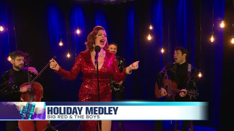 Big Red and the Boys Perform a Holiday Medley