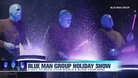 Blue Man Group Holiday Show