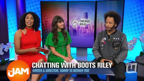 Chatting With Boots Riley