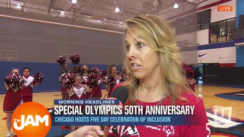 Special Olympics 50th Anniversary with So Cheer