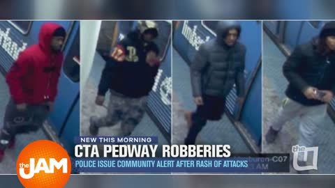 CTA Pedway Robberies with Pictures of Who to Look out for